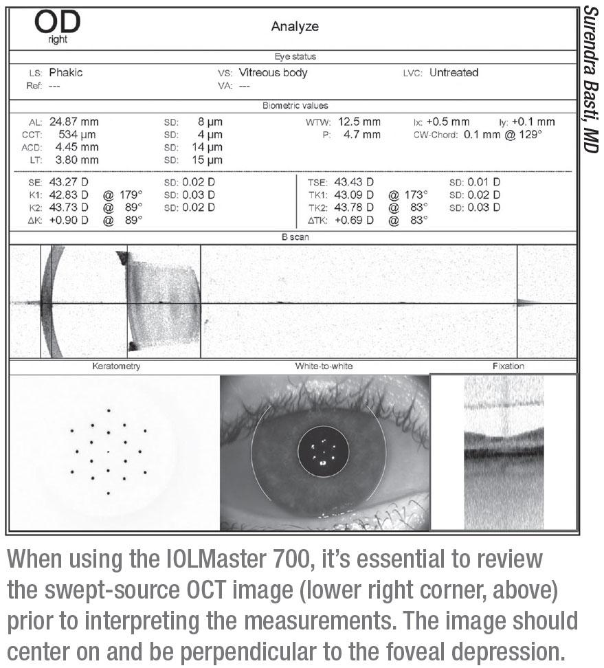 Consultul oftalmologic pentru lentilele de contact - Formula de testare a ochilor