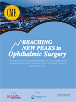 REACHING NEW PEAKS in Ophthalmic Surgery (PDF)