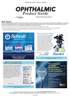 July 2015 Ophthalmic Product Guide